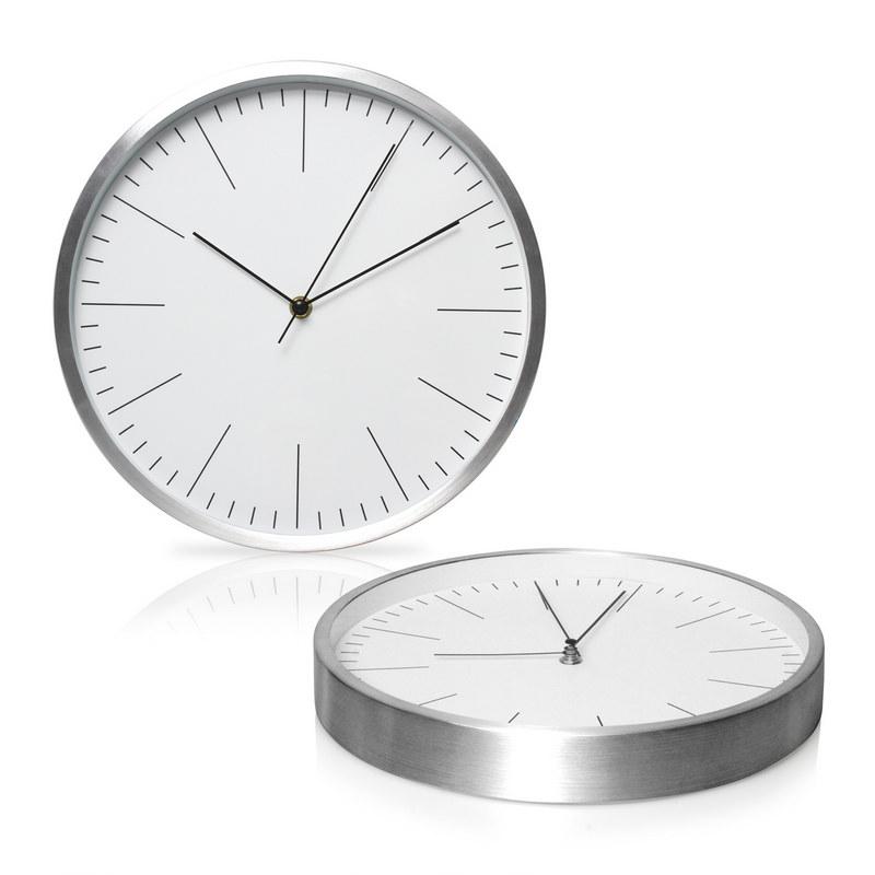 30cm Aluminium Wall Clock (C493_GL_DEC)