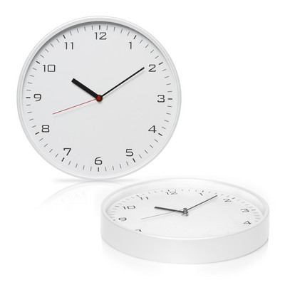 Wall Clock 30cm Plastic (C494_GL_DEC)