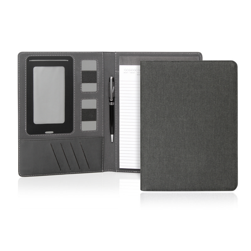 Compendium A5 Ebony Executive Tech (C509_GL_DEC)
