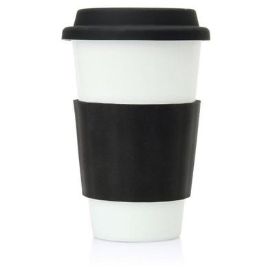 Eco Coffee Travel Mug Ceramic 300ml (M209C_GL_DEC)