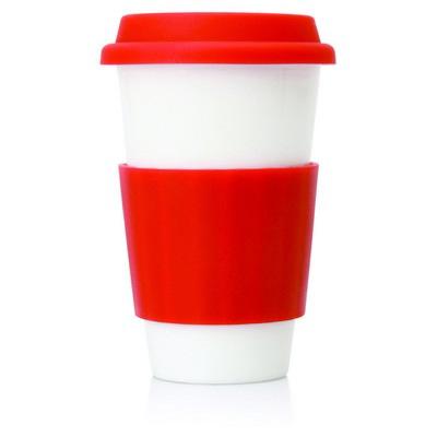 Eco Coffee Travel Mug Ceramic 300ml (M209D_GL_DEC)