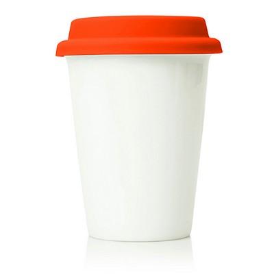 Eco Coffee Travel Mug Ceramic 260ml (M210F_GL_DEC)