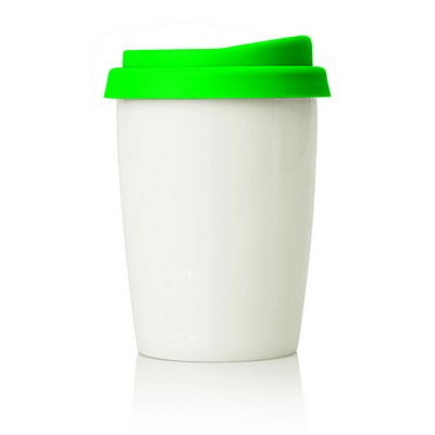 Eco Coffee Travel Mug Ceramic 270ml (M211E_GL_DEC)