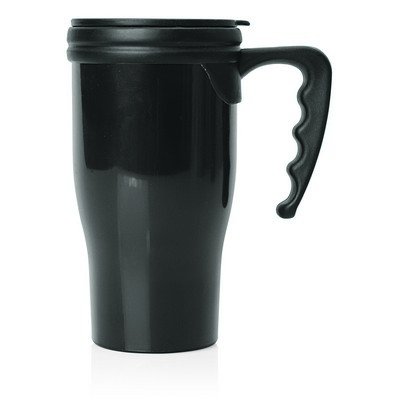 Travel Mug Plastic Double Wall 475ml (M229A_GL_DEC)