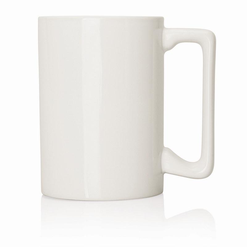 Ceramic Mug Extra Large D Handle 380ml (M233A_GL_DEC)