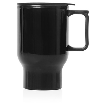 Travel Mug Plastic Double Wall 560ml (M248A_GL_DEC)