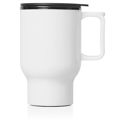 Travel Mug Plastic Double Wall 560ml (M248B_GL_DEC)