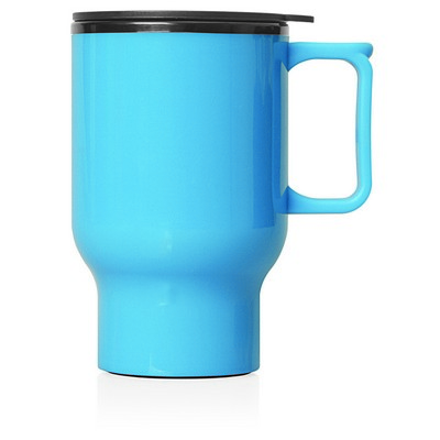 Travel Mug Plastic Double Wall 560ml (M248D_GL_DEC)