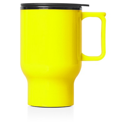 Travel Mug Plastic Double Wall 560ml (M248F_GL_DEC)