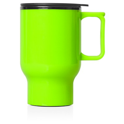Travel Mug Plastic Double Wall 560ml (M248G_GL_DEC)