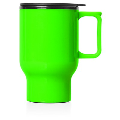 Travel Mug Plastic Double Wall 560ml (M248H_GL_DEC)