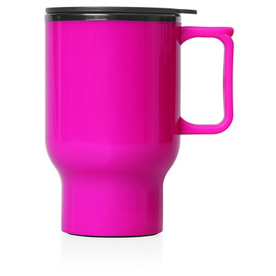 Travel Mug Plastic Double Wall 560ml (M248J_GL_DEC)
