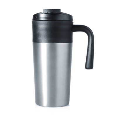 Travel Mug Aluminium Double Wall 450ml (M252B_GL_DEC)
