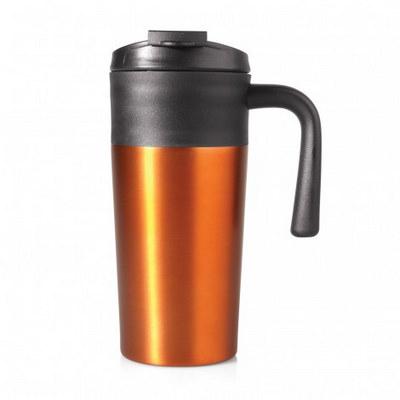Travel Mug Aluminium Double Wall 450ml (M252E_GL_DEC)