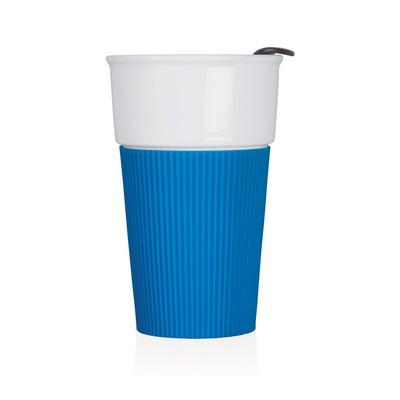 Eco Coffee Travel Mug Ceramic 370ml (M258B_GL_DEC)