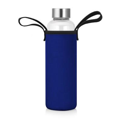 Bottle Glass Neoprene Sleeve 600ml (M269B_GL_DEC)