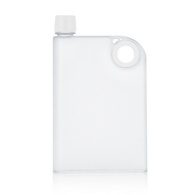 400ml Frosted Notebook Drink Bottle (M274A_GL_DEC)