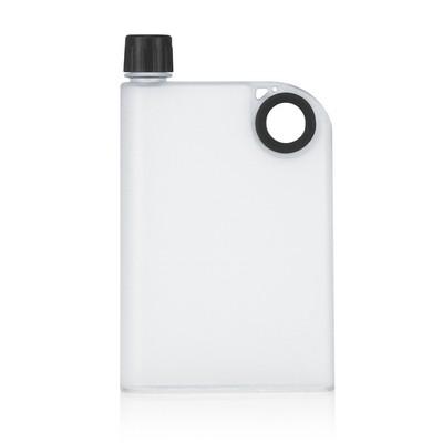 400ml Frosted Notebook Drink Bottle (M274B_GL_DEC)