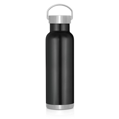 540ml Double Wall Stainless Bottle - Handle Lid (M292B_GL_DEC)