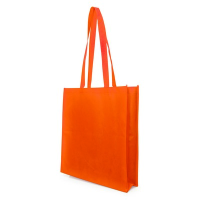 Bag Non Woven with Gusset (NWB05-OR_GL_DEC)