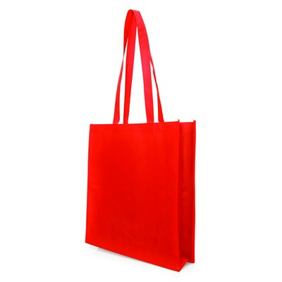 Bag Non Woven with Gusset (NWB05-RE_GL_DEC)
