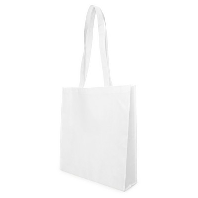 Bag Non Woven with Gusset (NWB05-WH_GL_DEC)