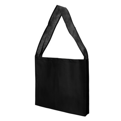 Bag Non Woven Sling with Press Studs and Gusset (NWB20-BK_GL_DEC)