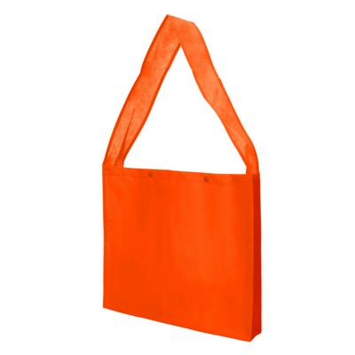 Bag Non Woven Sling with Press Studs and Gusset (NWB20-OR_GL_DEC)