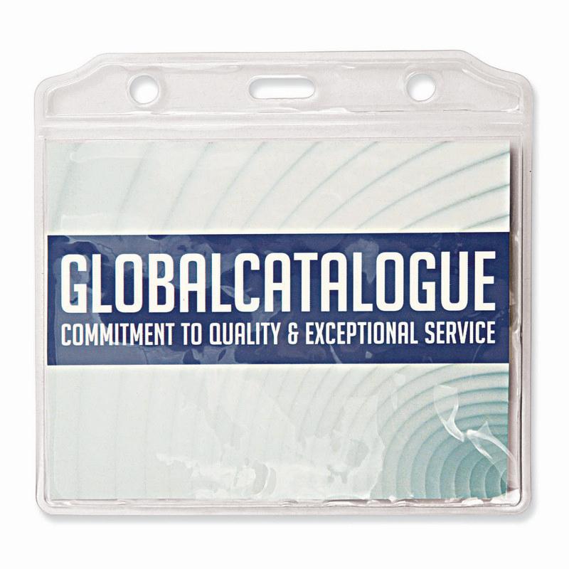 PVC Card Holder 78 (H) x 100 (W)mm (T111J_GL_DEC)