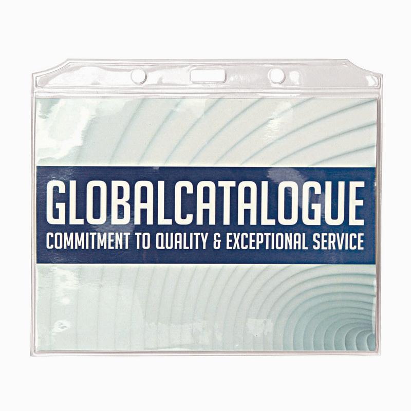 PVC Card Holder 113 (H) x 155 (W)mm (T111K_GL_DEC)
