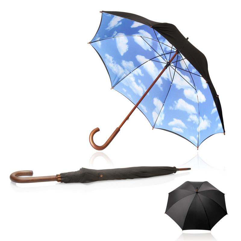 Umbrella 58cm Long Shelta Blue Sky (US1444.BLU_GL_DEC)