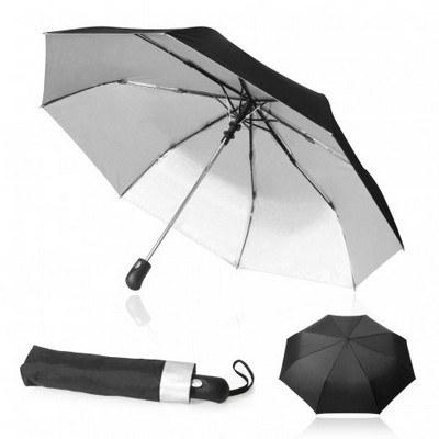 Umbrella 60cm UPF 50+ Shelta Auto-open (US3020.BLKSIL_GL_DEC)