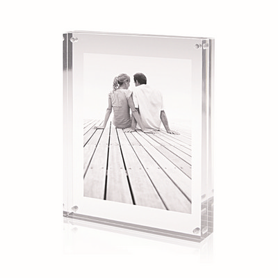 Photo Frame Acrylic Large Rofe Design (AC114_GL_DEC)
