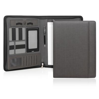 Compendium A4 Milano Executive Tech Powerbank Zipper (C480_GL_DEC)