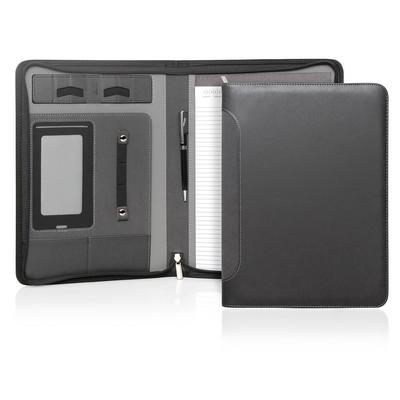 Compendium A4 Verona Executive Tech Zipper (C485_GL_DEC)