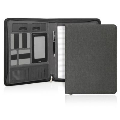 Compendium A4 Ebony Executive Tech Zipper (C511_GL_DEC)