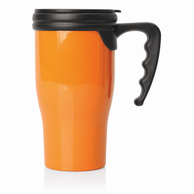 Travel Mug Plastic Double Wall 475ml (M229_GL_DEC)