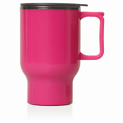 Travel Mug Plastic Double Wall 560ml (M248_GL_DEC)