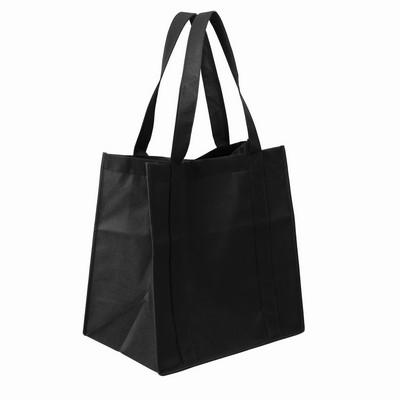 Bag Non Woven Shopping (NWB10-BK_GL_DEC)