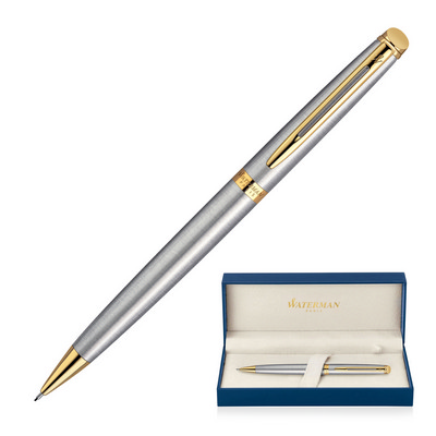 Pencil Mechanical Metal Waterman Hemisphere - Brushed Stainless GT (S20102004_GL_DEC)