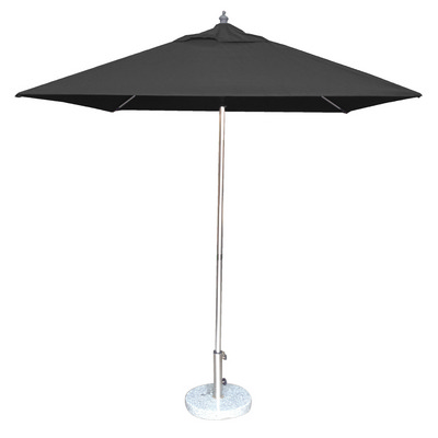 2.0m Square Tuscany Polished Market Umbrella, Olefin cover (SP6SQTPOL_PER)