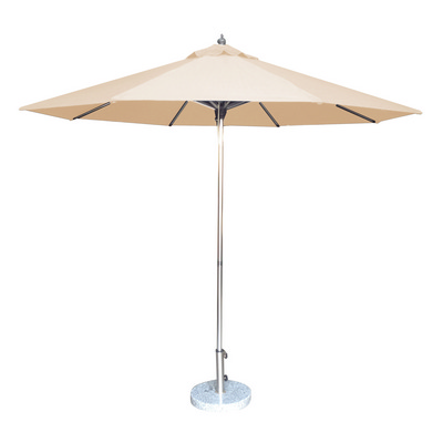 2.7m Tuscany Polished Market Umbrella, Acrylic Canvas cover (S9TPAC_PER)