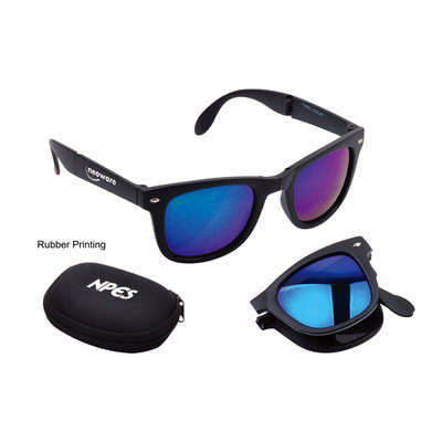 Folding Sunglasses - (printed with 1 colour(s)) - (PC3972_PC)