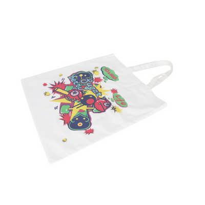 170gsm Sublimation Short Handle Cotton Bag (PCBC065_PC)