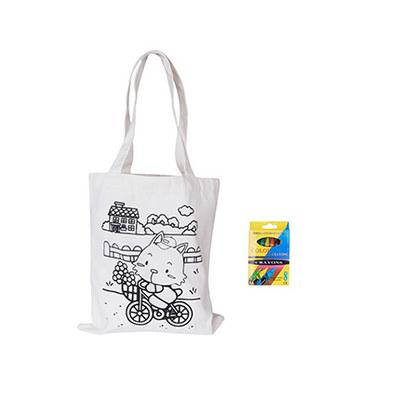 Medium Colouring Bag with Crayons (PCBC100_PC)