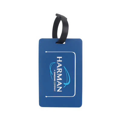Custom Shaped PVC Luggage Tag (PCK010_PC)