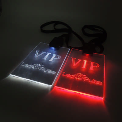 LED Lanyard with Regular Cable (PCL40_PC)