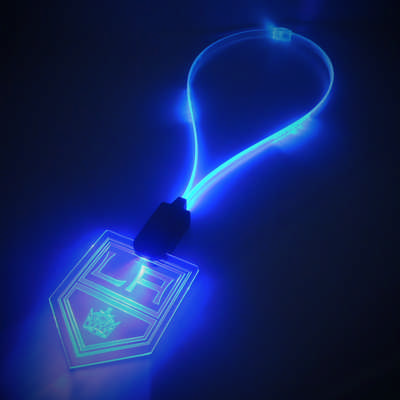 LED Lanyard with illuminating Cable (PCL41_PC)