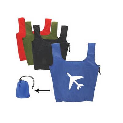 Foldaway Shopping Tote Bag (PCPB073_PC)