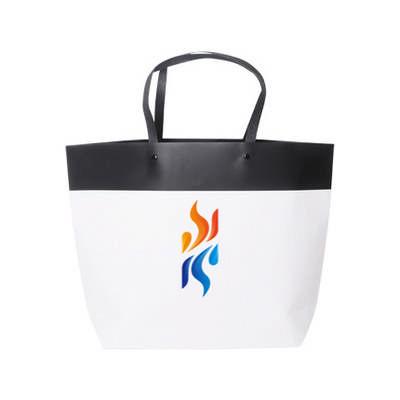 Medium Black&White Boutique Paper Bag(370 x 280 x 100mm) (PCPB141_PC)